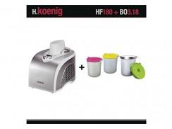 H.Koenig HF180 : une turbine à glace digne d'un professionnel entre vos mains